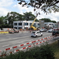 Chantier extension tram Bernex